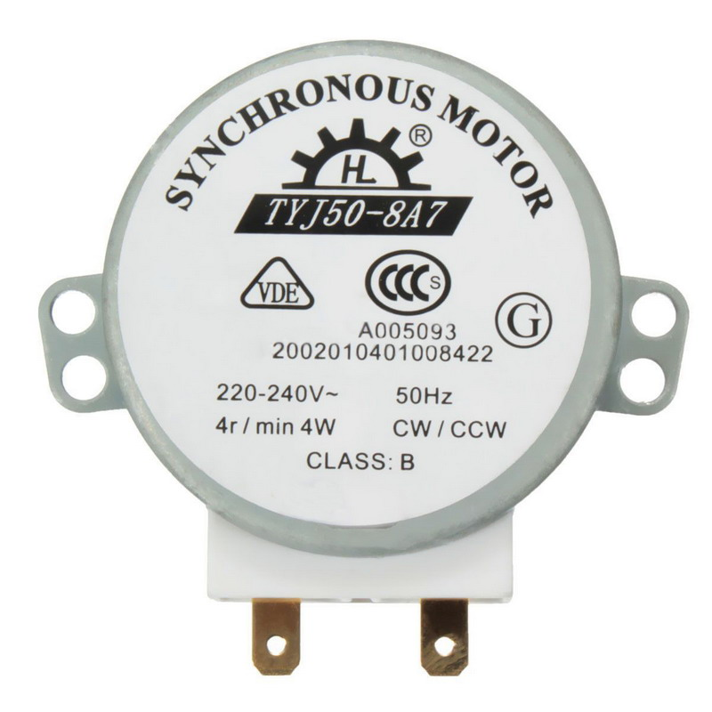 Hot Selling AC 220V-240V 50Hz CW/CCW Microwave Turntable