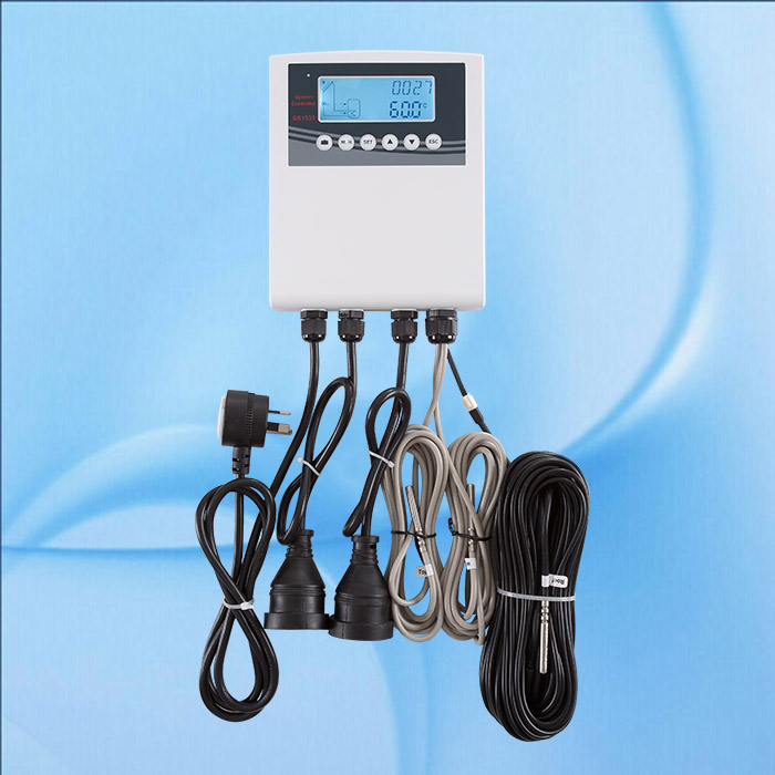 Australia Plug 240V controller of solar water heater, for separated pressurized solar hot water system
