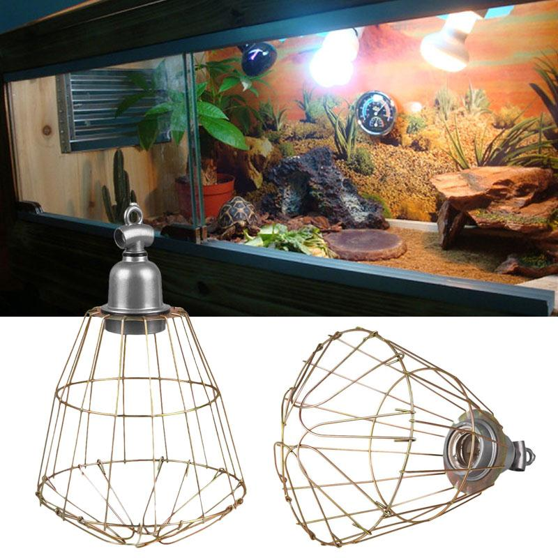 E27 heat infrared lamp shade chandelier led bulb holder shade cover e27 heat infrared lamp shade chandelier led bulb holder shade cover reptile pet lampshade wire diy greentooth Images