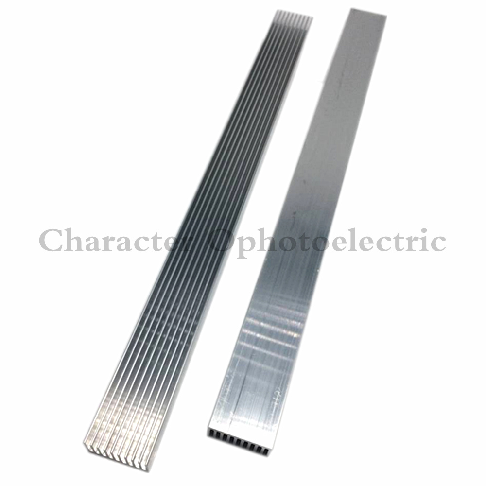 1pcs High Power LED aluminum Heatsink 300mm*25mm*12mm for 1W,3W,5W led emitter diodes