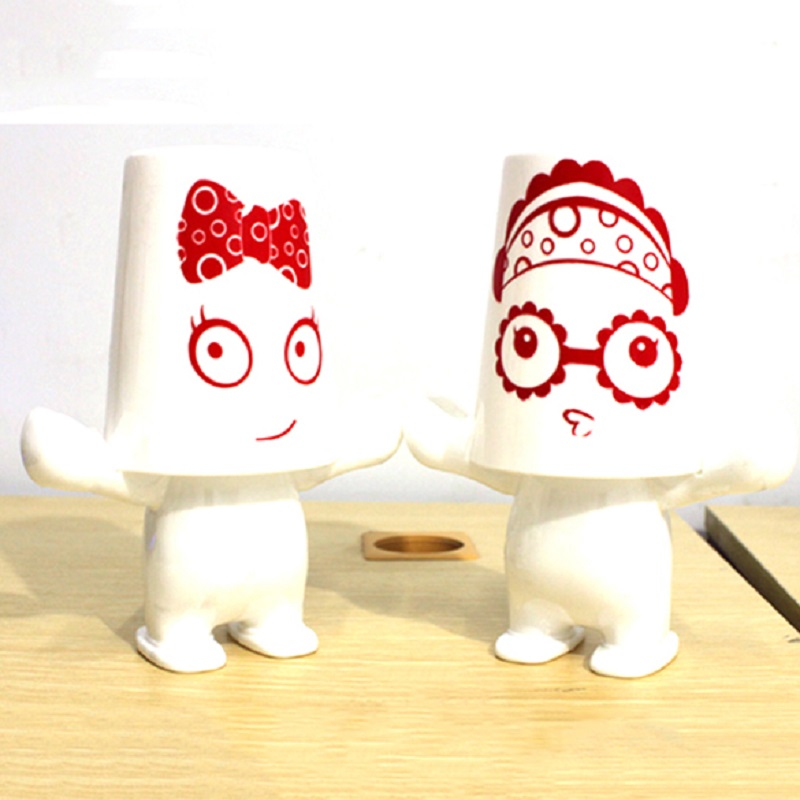 Children couple Lovely Giant Series Cartoon Plastic Toothbrush Holder Set Bathroom Accessories