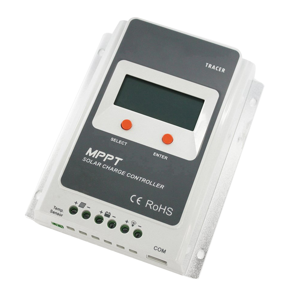 Solar Charge Controller MPPT Control 10A with 12V/24V DC Input 10A/20A/30A/40A