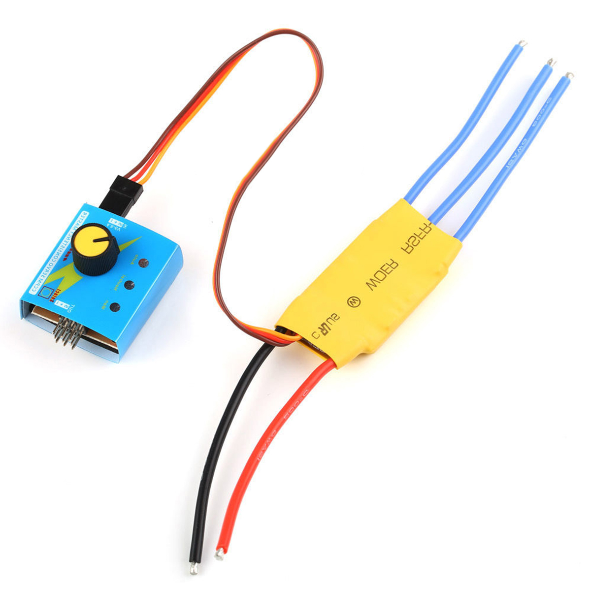 30A DC 12V 3-phase High-Power Brushless Model Motor Speed PWM Controller Driver