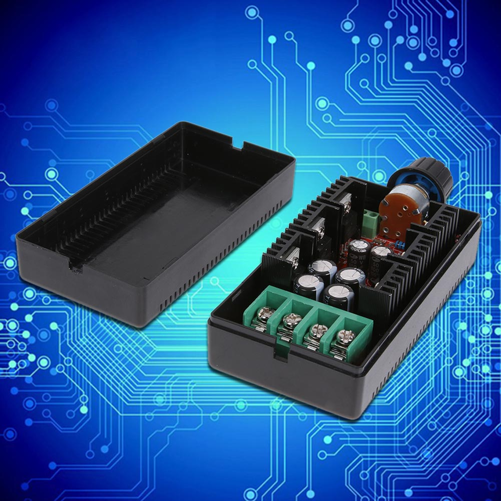 DC10-40V PWM DC Motor Speed Control Board 1600W 40A Electronic fan speed control DC Speed Control Board