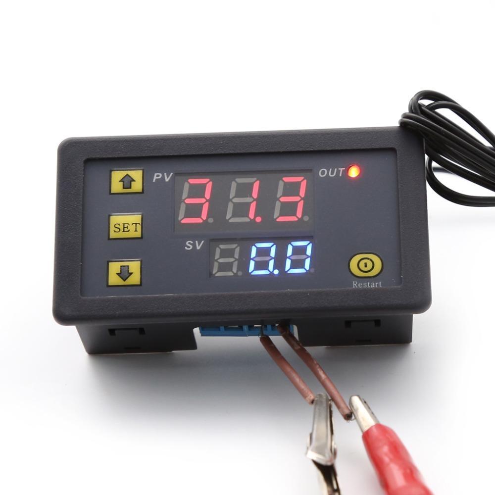 10A 12V Digital Temperature Controller Temp Thermostat Control Relay Sensor