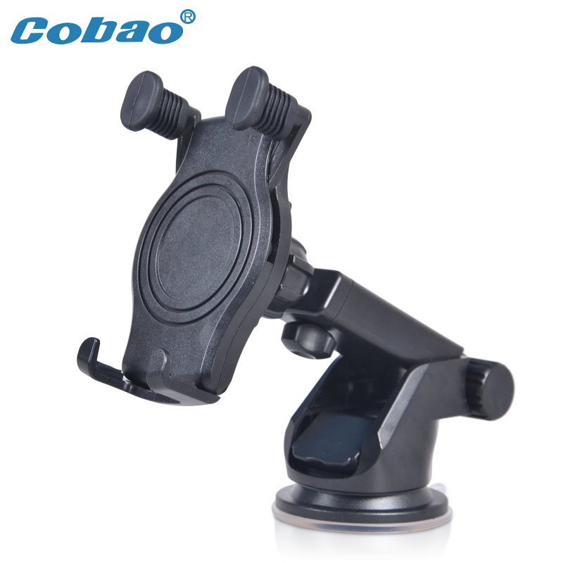 Universal Dashboard Car Phone Holder 360 Degree Adjustable Windshield Mobile Phone Holder Stand Mount for iPhone 5 6 Samsung HTC