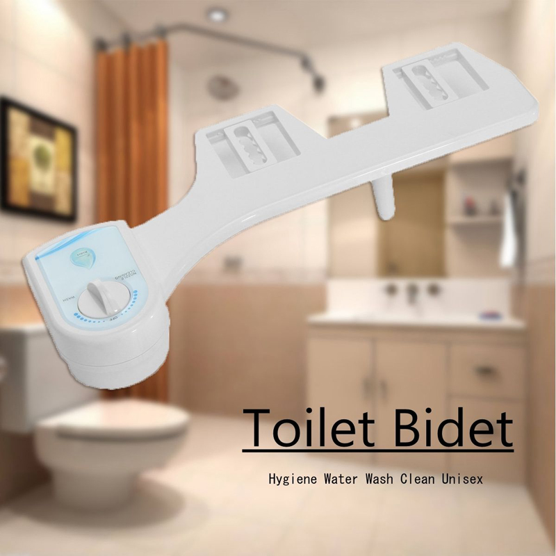 Adjustable Non-electric Bidet Fresh Water Spray Toilet Seat Nozzle Attachment for Toilet Spray Nozzle Women Bidet Washing Gun