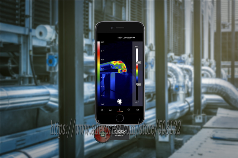 Seek Thermal Compact PRO/ Compact /Compact XR  Imaging Camera infrared imager Night vision Android and IOS Version