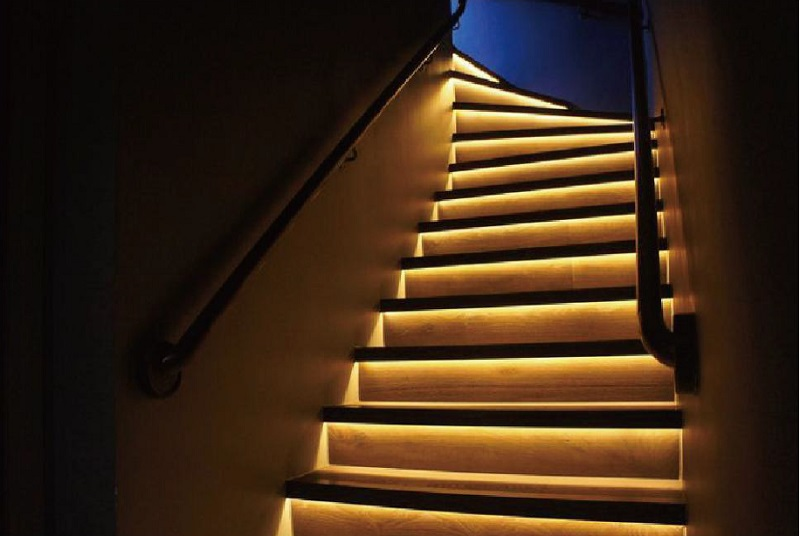 High Quality Aluminum Led Channels Recessed Stair Lights In