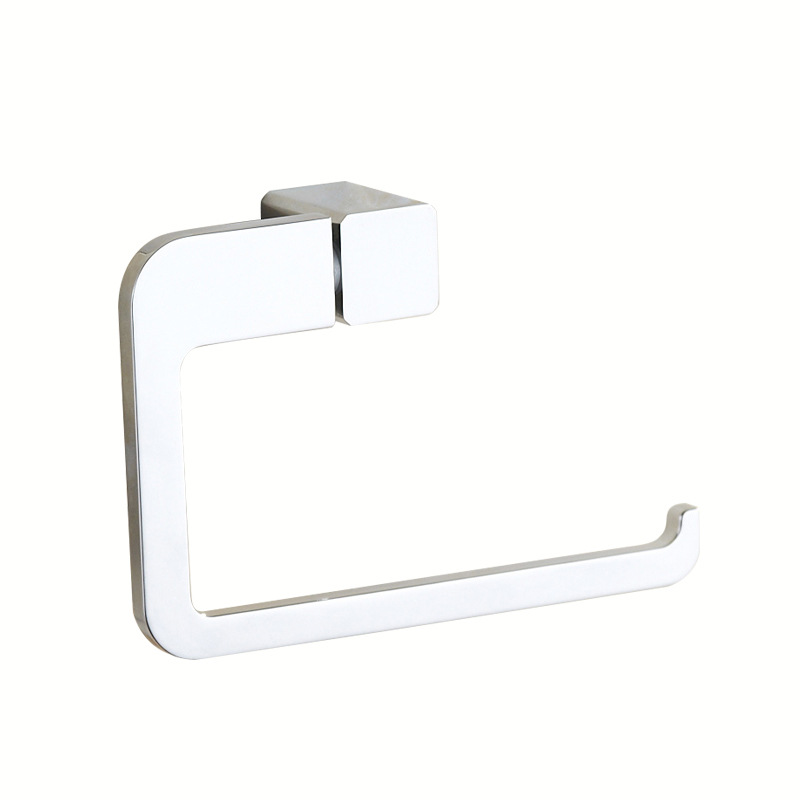 Free Shiping/Chrome Stainless Steel Paper Towel Rack Bathroom Paper Holder Roll Holder No Cover Tissue Holder Toilet Accessories