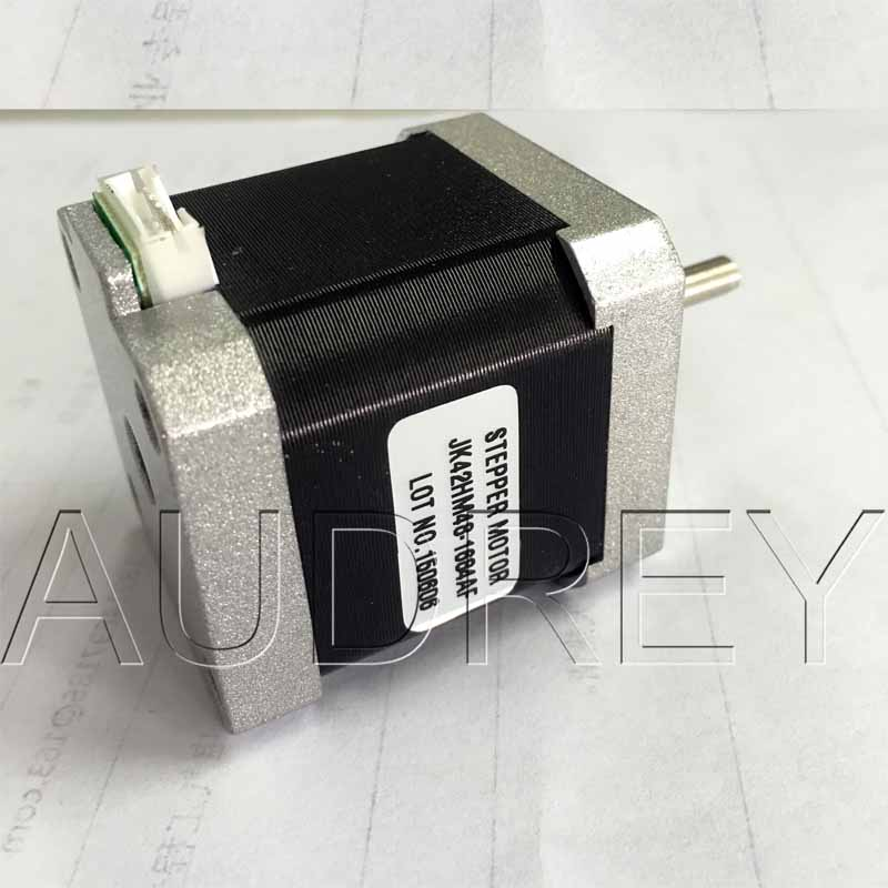 Flat shaft motor D shaft 42HM48-1684AF 0.9 degree 42mm 2phase hybrid stepper motor NEMA17 bipolar step motor Single shaft 1.68A