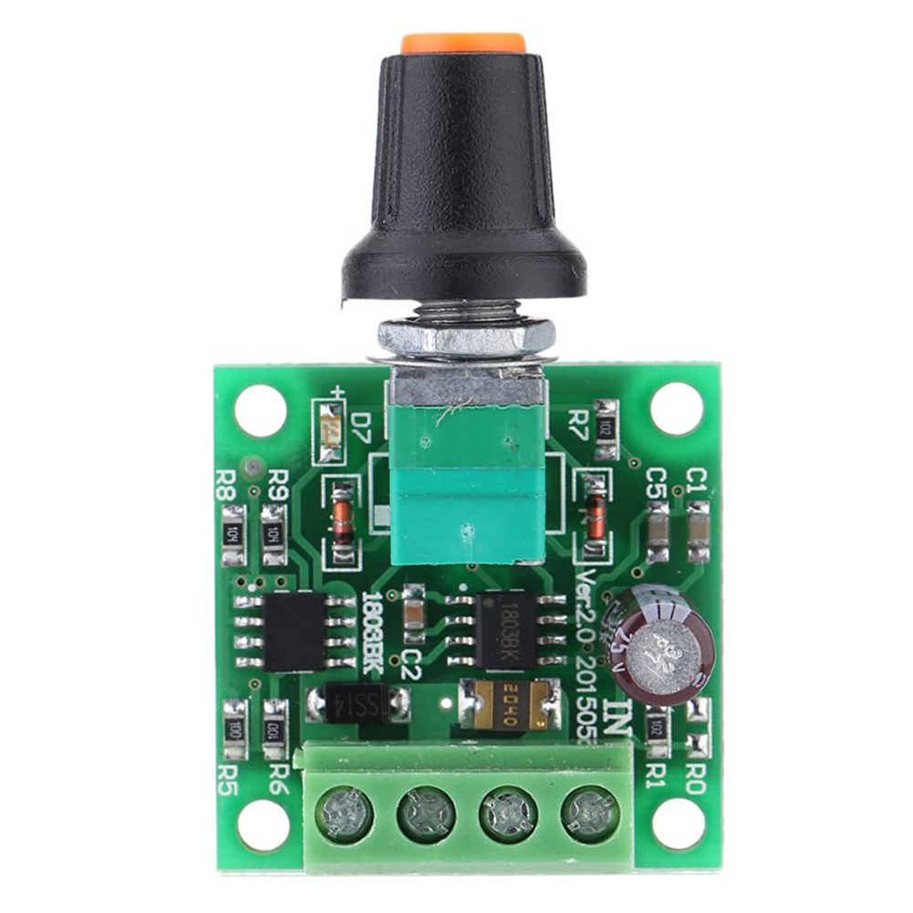 Low Voltage DC PWM Motor Speed Controller Module 1.8V 3V-5V-6V 12V 2A