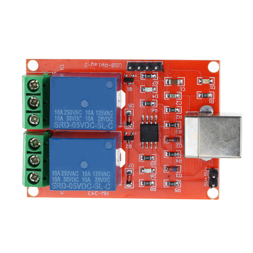 A152 5v Usb Rela Programmable Dc Computer Motor Control Relay 2 Using Channel Module For Smart Home