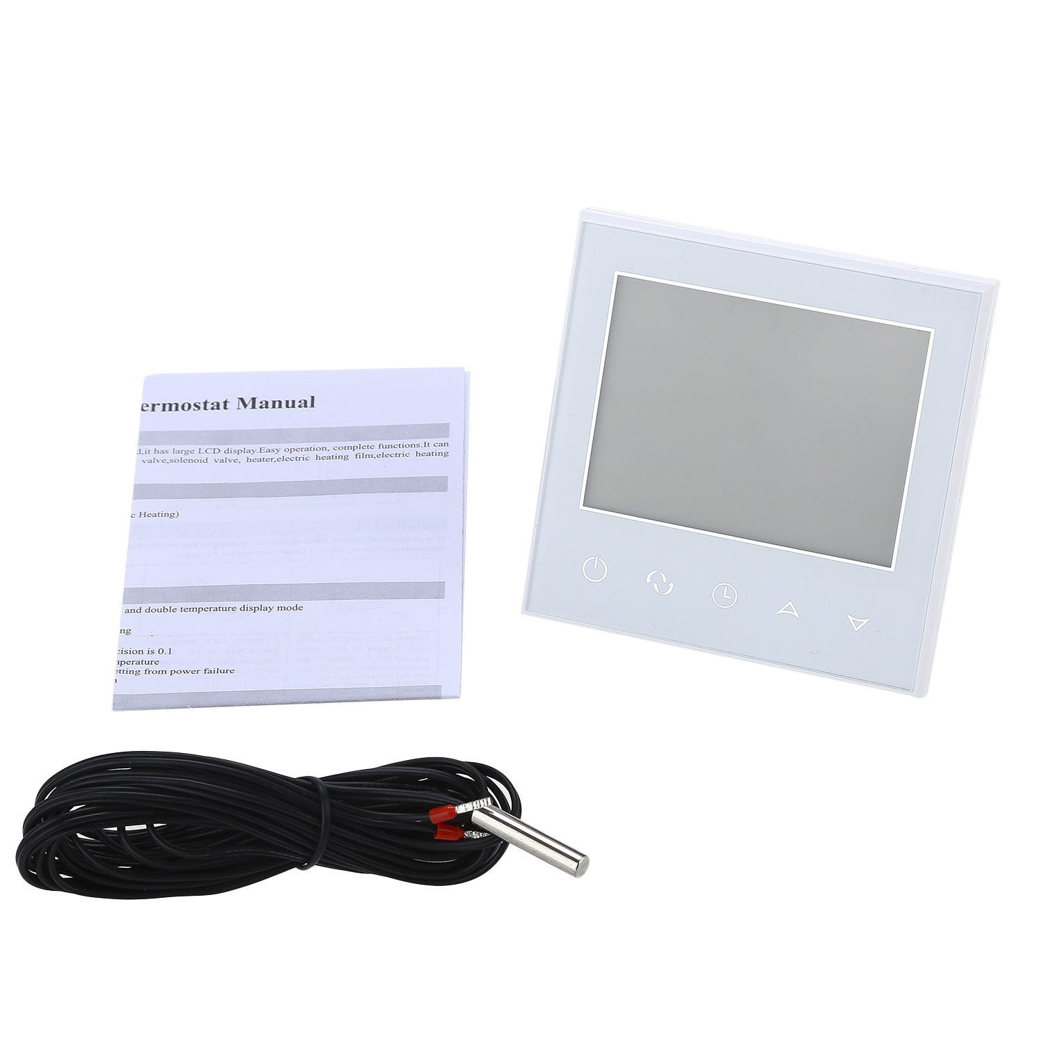WIFI 16A Digital LCD Display Thermostat Home Room Heating Temperature Controller