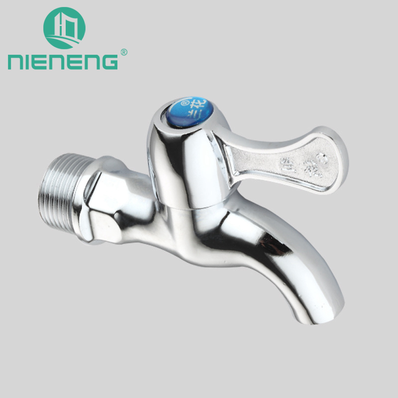 Nieneng Bibcock Tap Wall Mount Faucet Mini Tap Water Sink Small Outdoor Bib Cock Mop Pool Faucets Garden Fixtures ICD60496
