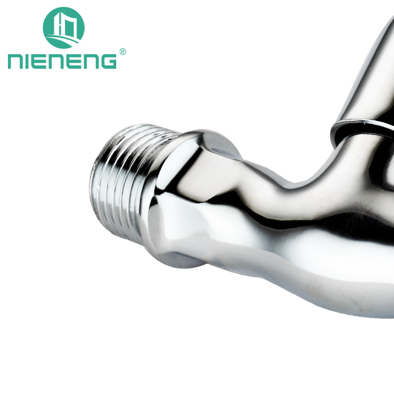 Nieneng Gardener Bibcock Mixer Tap Wall Mount Faucet Sink Faucets Small Outdoor Mop Pool Taps Bib Cock Garden Fixtures ICD60499