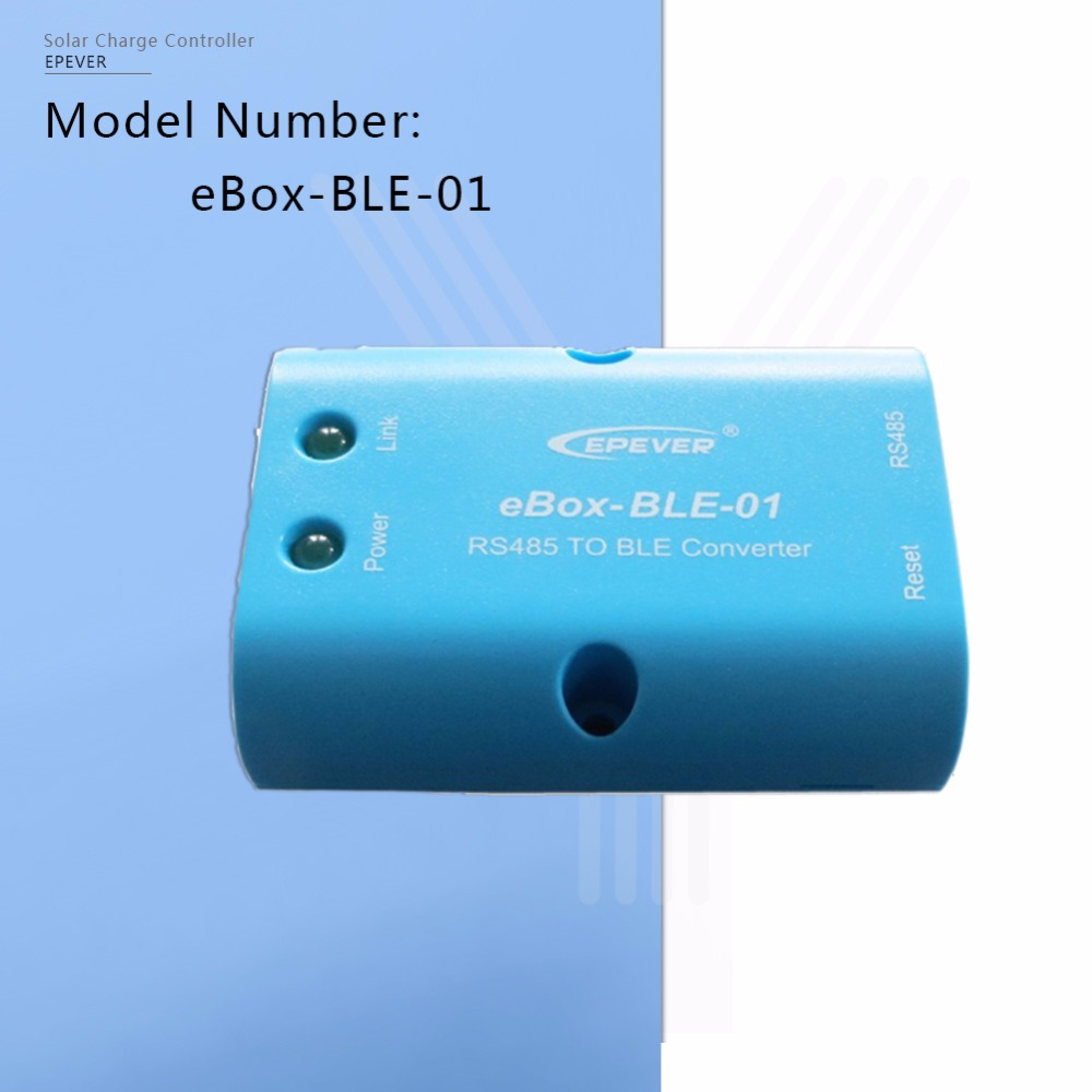 EPEVER EBOX-BLE-01 RS485 to Bluetooth Adapter Communication and Wireless Parameter Settings for EPever Solar Controllers