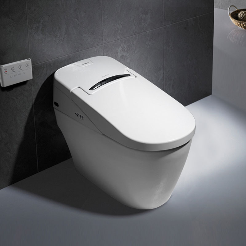 all-in-one intelligent toilet fully automatic remote control integrated machine