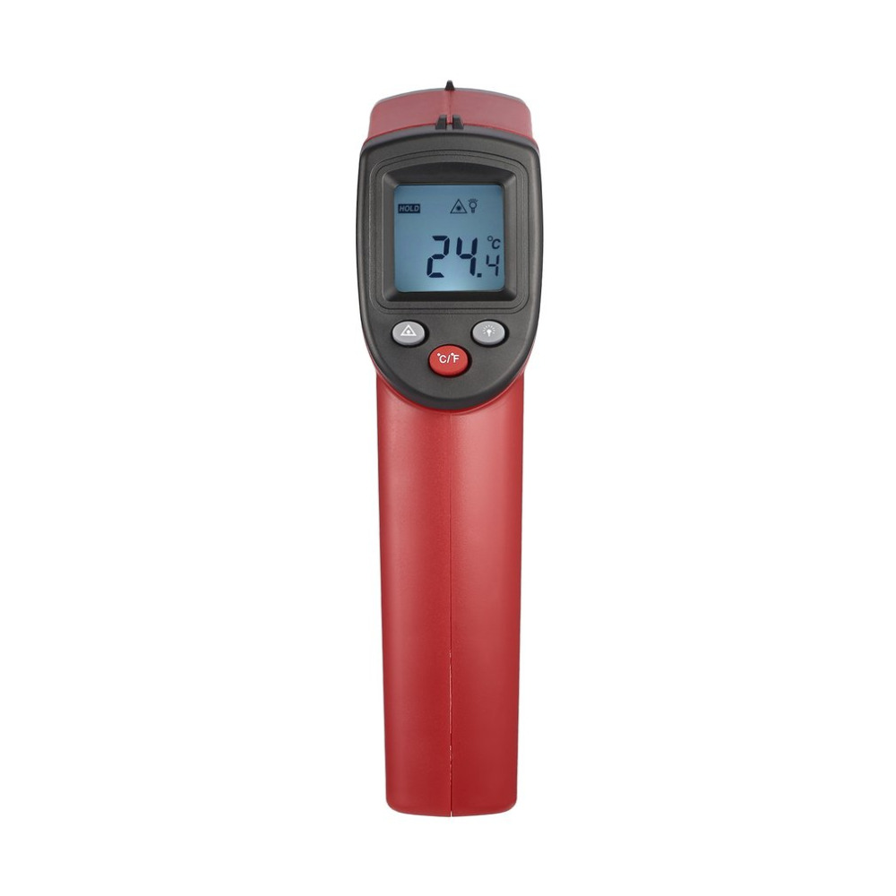 Non-Contact Laser LCD Display IR Laser Digital Temperature Meter Sensor Infrared Thermometer Point Data Holding