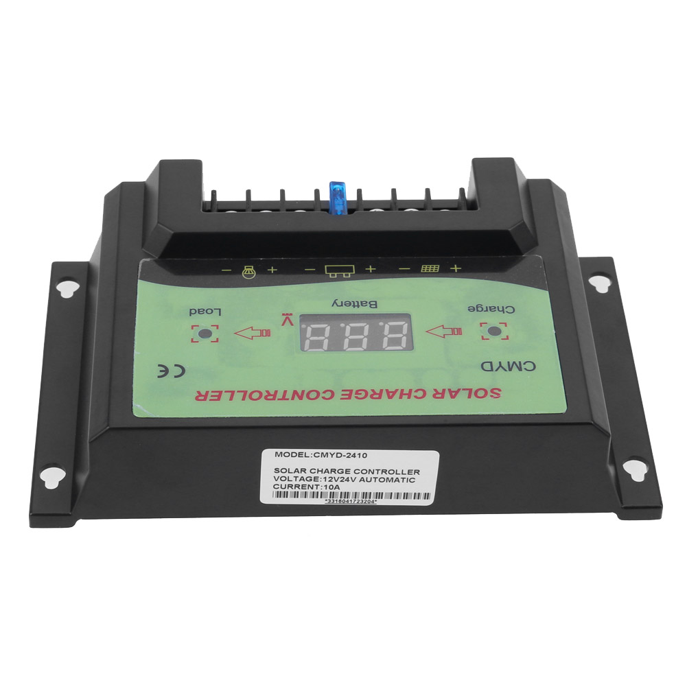 12V 24V Solar Controller 10A Voltage Regulator Solar Charge Controller LCD Solar Regulator