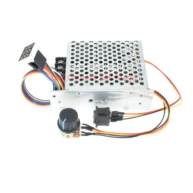 2000W High Power 40A  DC Motor Controller DC 10V 12V 24V 36V 48V 55V Motor Drive Speed adjustment/Dimming /Power regulation