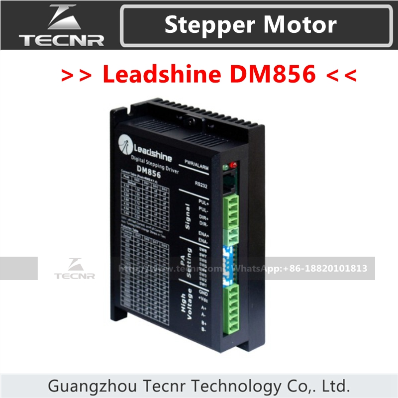 Leadshine DM856 Stepper Driver DC18-80V For 2 Phase Nema23 Nema34 Stepper Motor
