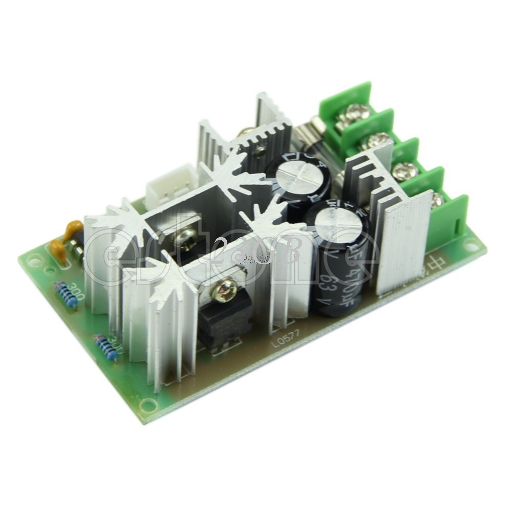 1pcs Universal Dc10-60v Pwm Hho Rc Motor Speed Regulator Controller Switch 20a Motor Controller