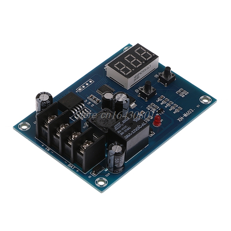 CNC Battery Lithium Batteries Charge Controlled Module Battery Charging Control Protection Switch 12-24V New XQ_7 Drop shipping
