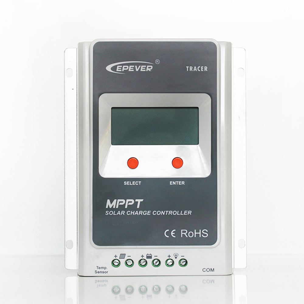 MPPT 10A Tracer 1210A with EBOX-BLE-01 Solar Charge Controller 12V/24V Auto LCD Display Light and Timer Controller PV Regulator