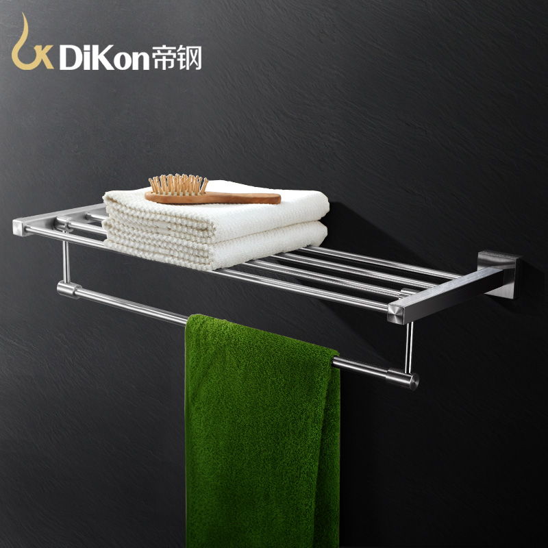 DiKon GJ01 Bathroom Towel Holder Rack&Holder Double Layer Towel Rack Solid 304 Stainless Steel  60cm Bathroom Accessories
