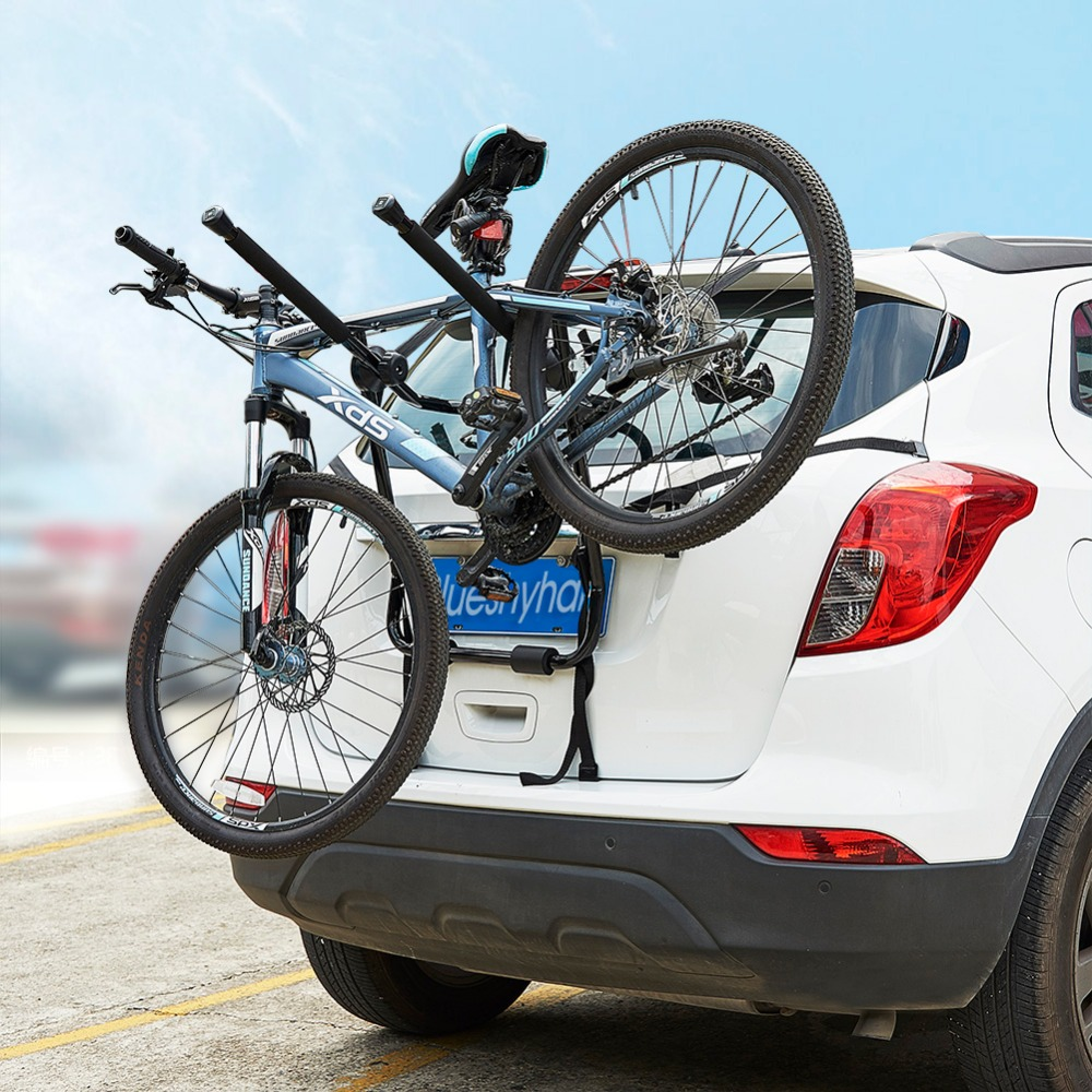 Car Bicycle Stand SUV Vehicle Trunk Mount Bike Cycling Stand Storage Carrier Car Racks
