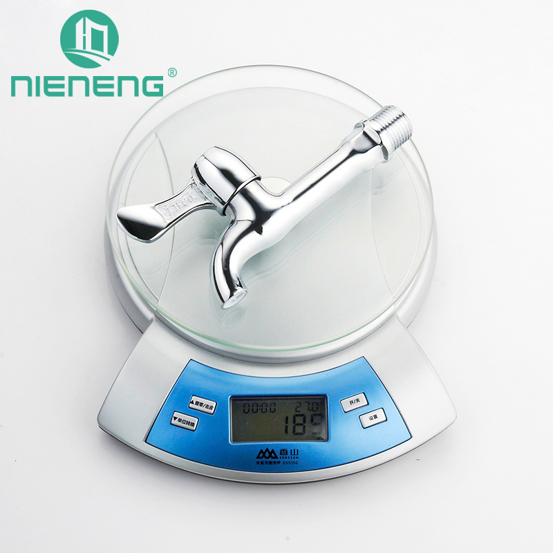 Nieneng Torneira Parede Outdoor Garden Bibcock Faucet Wall Mounted Washing Machine Taps Mop Pool Faucets Garden Faucet ICD60489