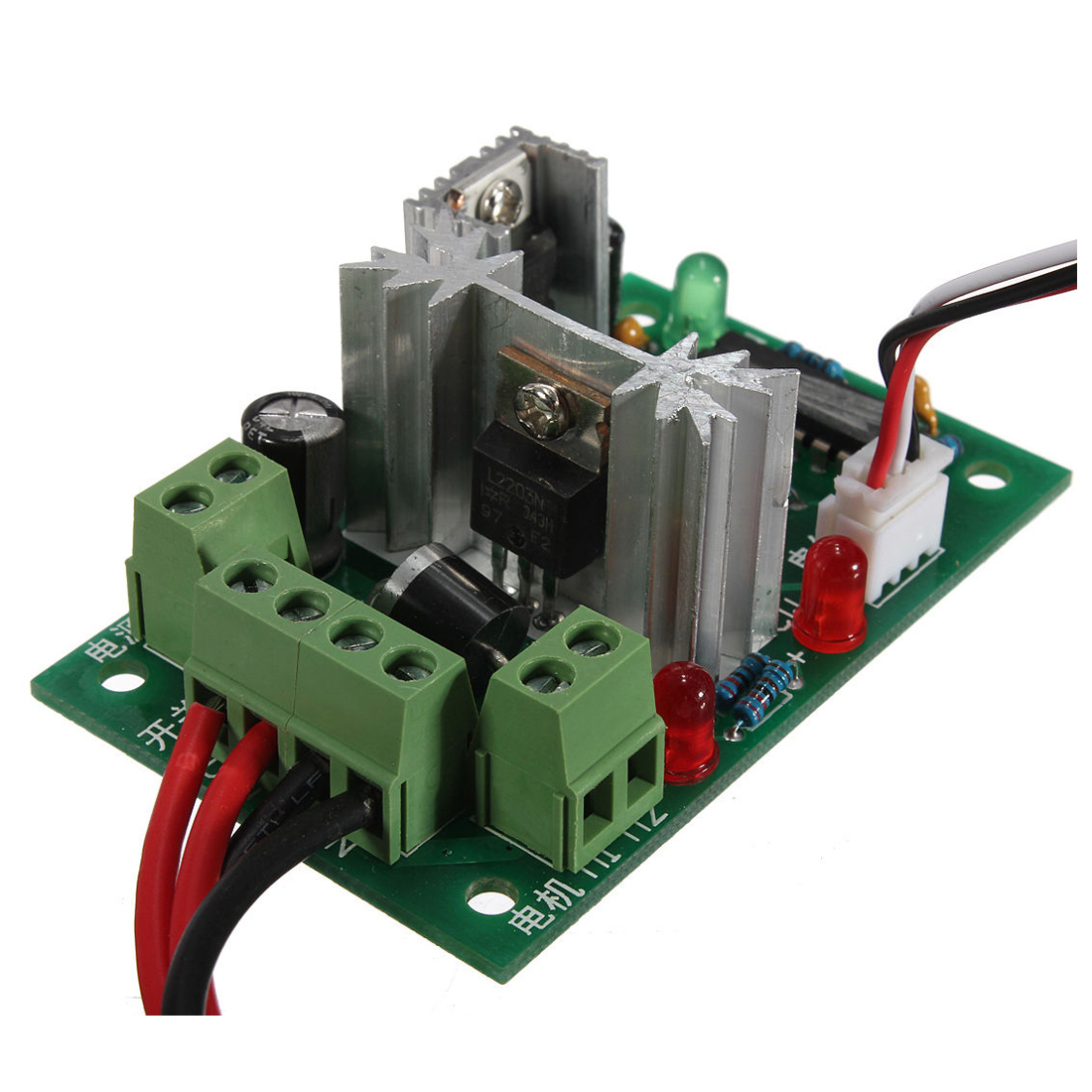 Speed Controller PWM controller 2 Switch Controller Motor Controller DC10V-30V 3A