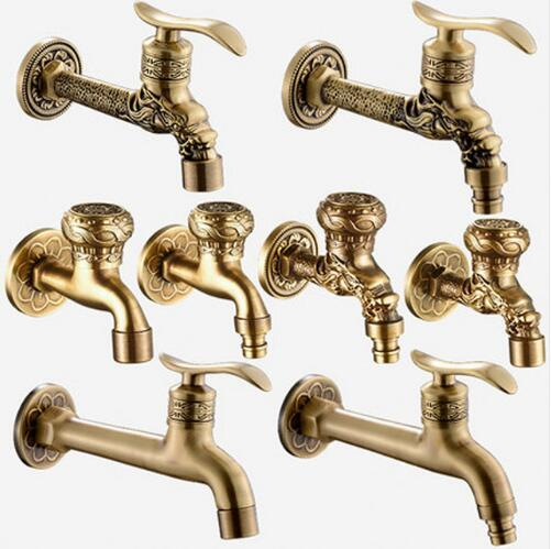 Brass Antique Bronze Bibcock, Cold Tap, Washing Machine Faucet, Toilet Bibcock, Copper Bibcock,Tap,Garden faucet