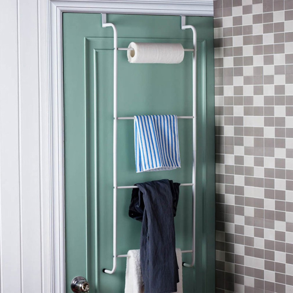 DUZI Wall-mounted Towel Racks Bathroom Towel Holder,Foldable Towel ...