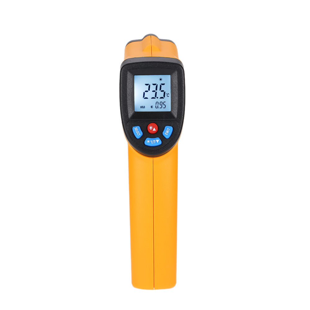 Nice Non-Contact LCD IR Laser Infrared Digital Temperature Meter Thermometer QP