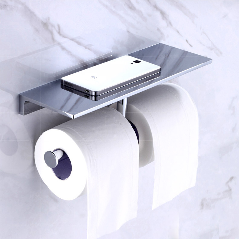 Best-Quality-Double-Bathroom-Roll-Paper-Holder-with-Mobile-Phone-Holder-Wall-Mounted-Brass-Toilet-Paper(1)