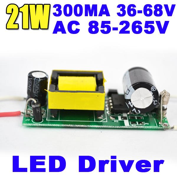 3PCS/Lot Factory Supply 300Ma 21W Internal Led Driver Lighting Power Transformer for E27 GU10 E14 Bulb Spotlight