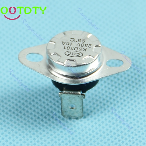 Normal Close Temperature Controlled Switch Thermostat 250V 10A 1pc KSD301 95C  828 Promotion