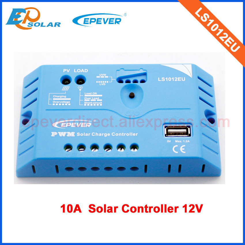 LS1012EU 10A 10amp 12v work solar mini home system regulators PWM controller of EPEVER