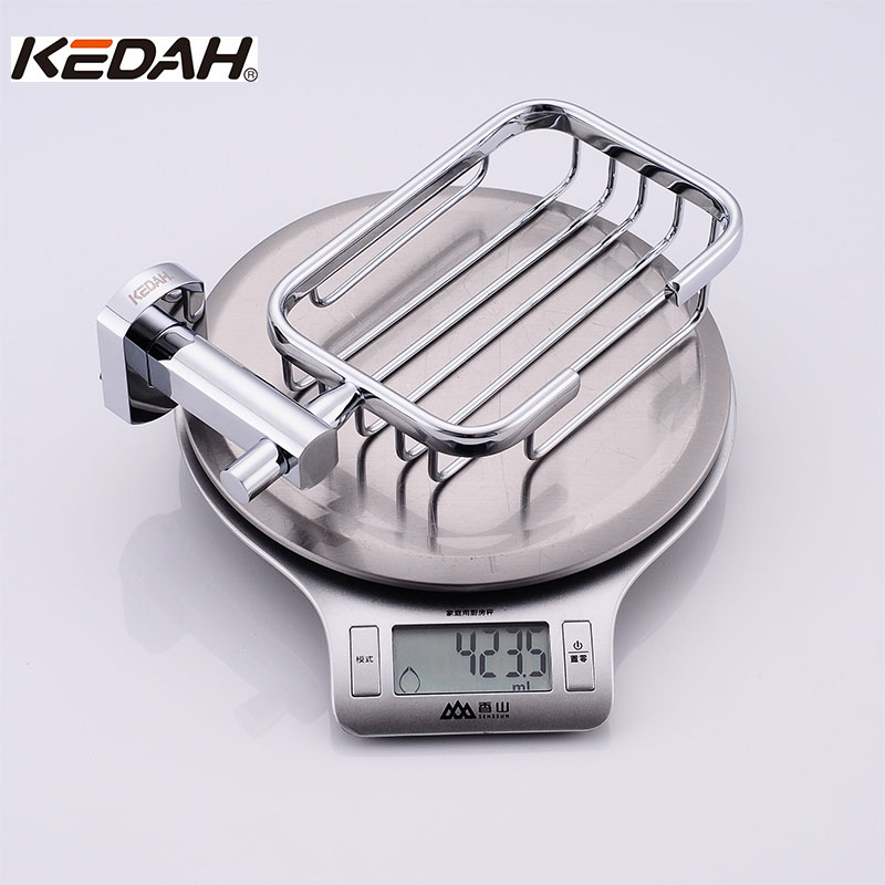 KEDAH Soap Holder&Basket Copper Basin Soap Dishes Zink Hardware Bathroom Accessories KD8311