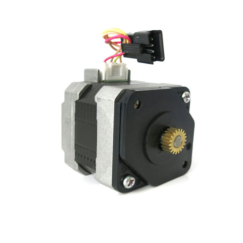 42mm step motor with Black terminal line NEMA17 Four wire two-phase Gear Stepping Motor