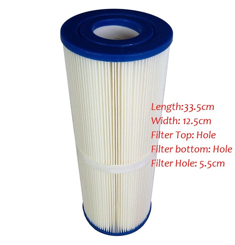 hot tub Cartridge filter and spa filter, size 13 5/16inch x4 4/16inch,Unicel C-4326 ,Filbur FC-2375