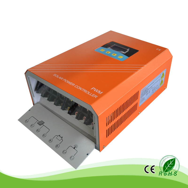 50A 96V/110V/192V/220V/240V Solar System Charger Controller Big Current High Voltage for Residential Home Use