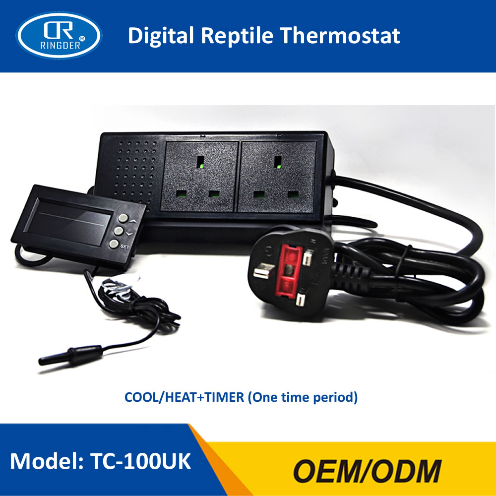 DIGITAL REPTILE THERMOSTAT TC-100 3