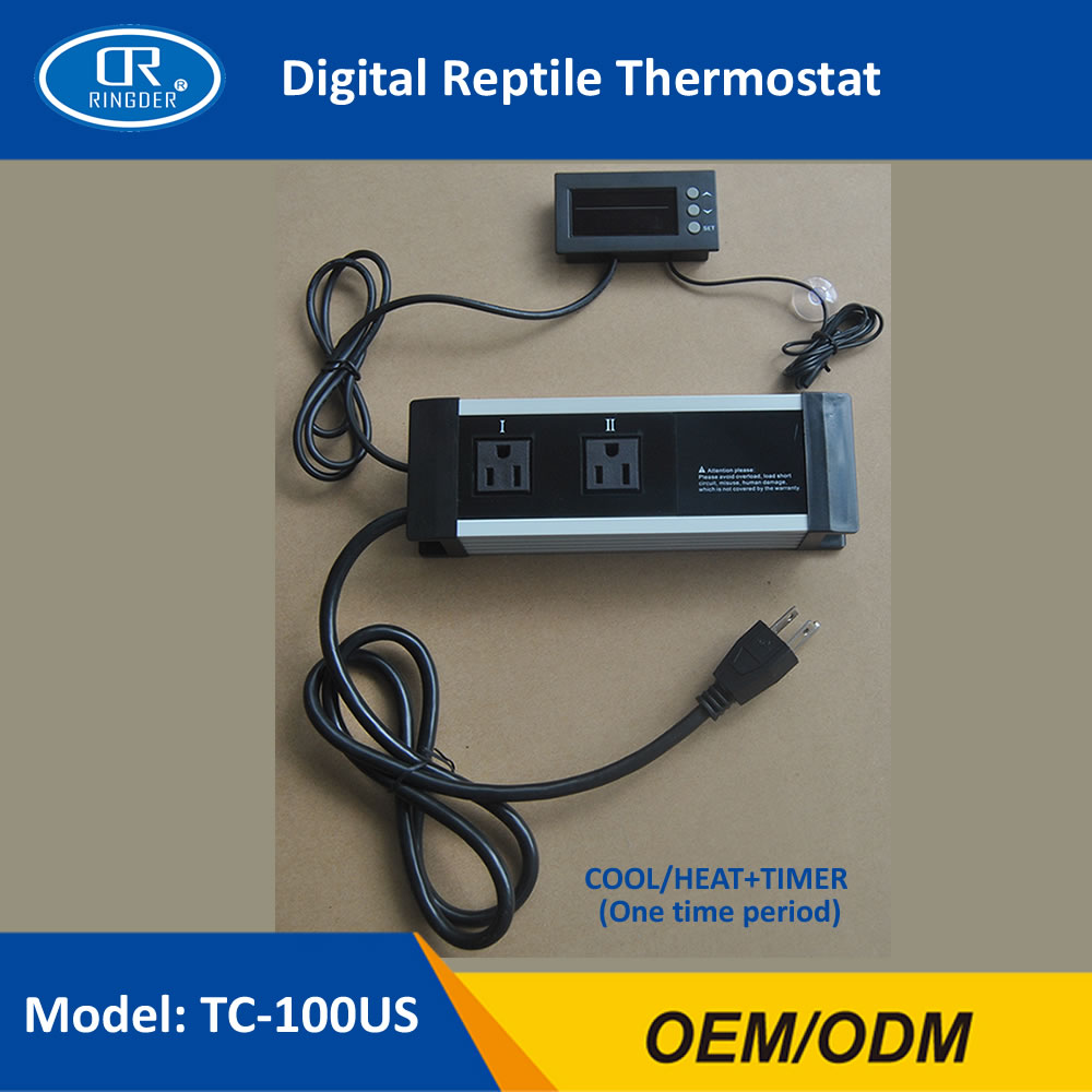 DIGITAL REPTILE THERMOSTAT TC-100 4
