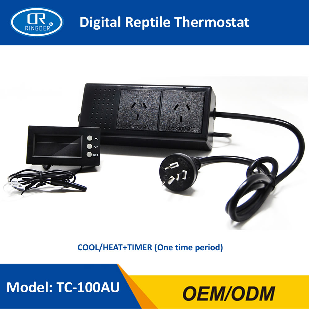 DIGITAL REPTILE THERMOSTAT TC-100 0