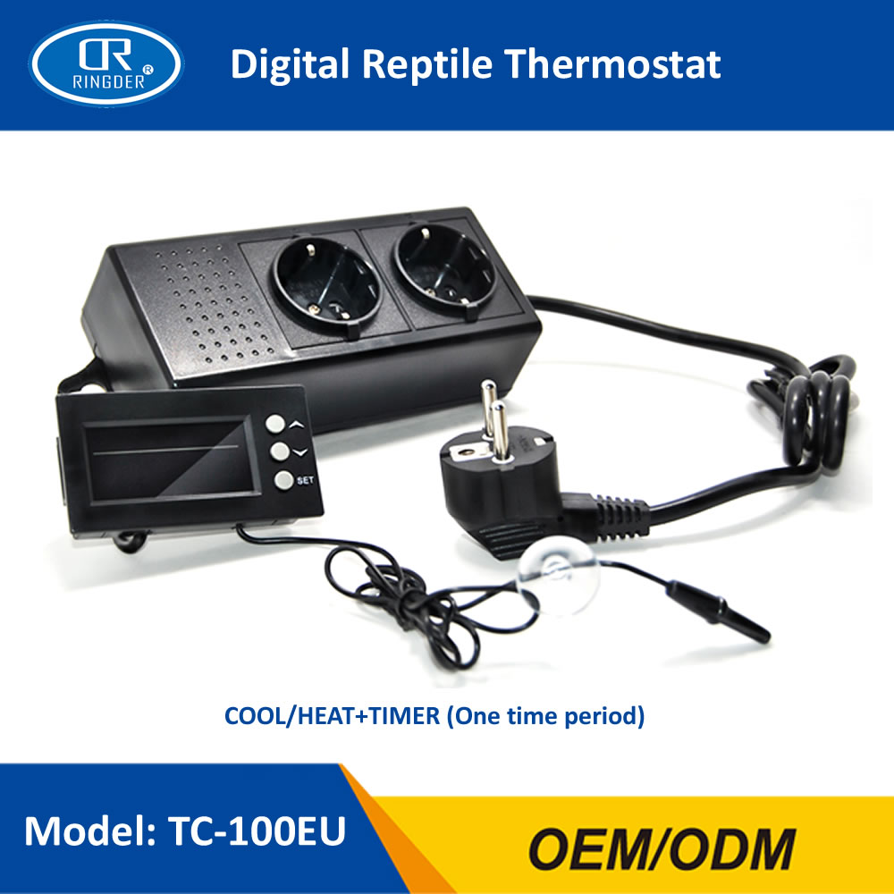 DIGITAL REPTILE THERMOSTAT TC-100 1