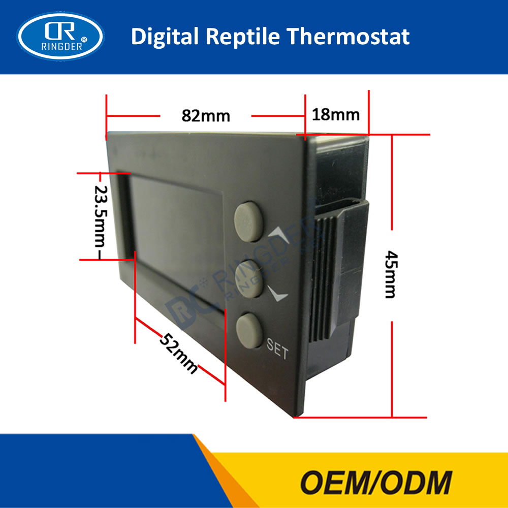 DIGITAL REPTILE THERMOSTAT TC-100 8