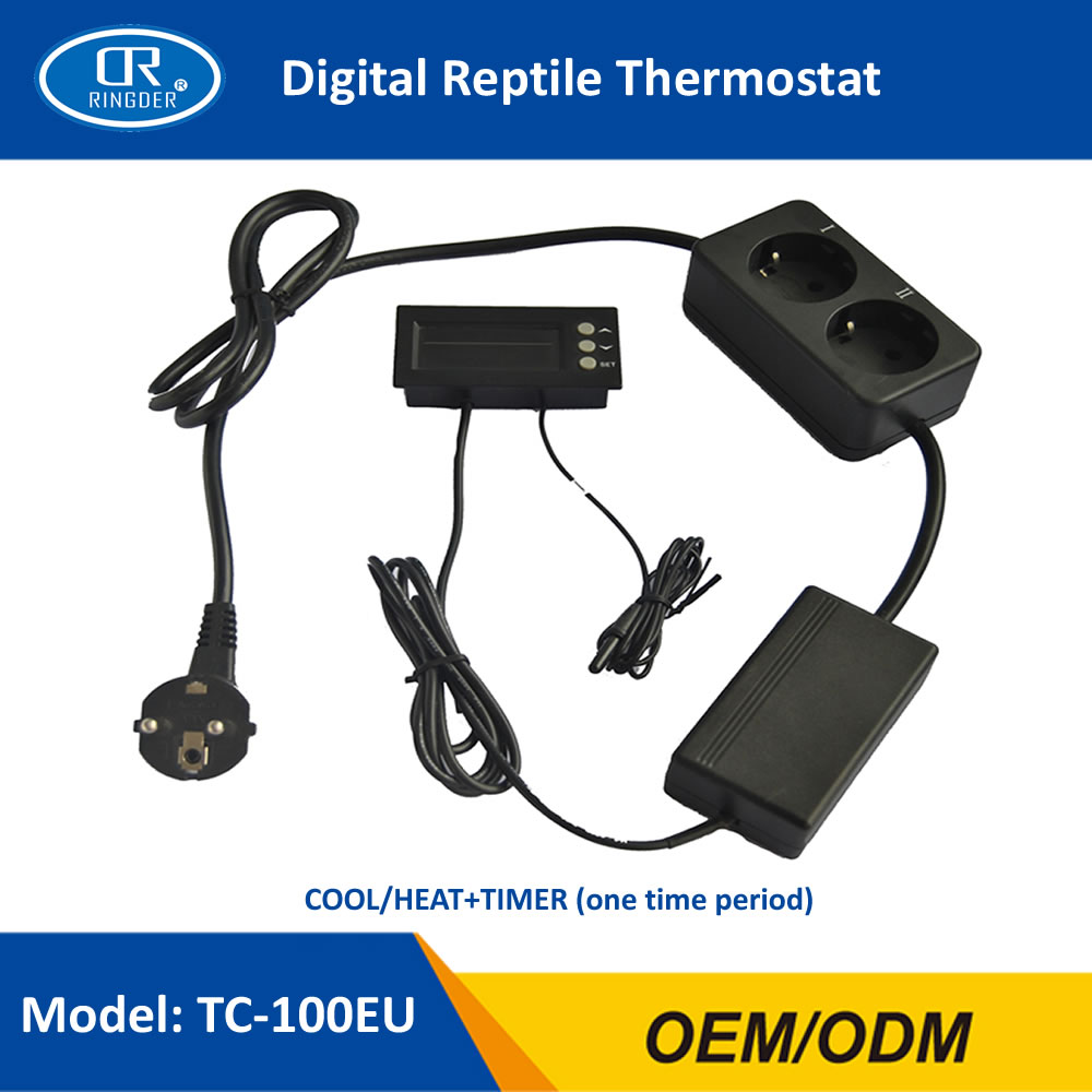 DIGITAL REPTILE THERMOSTAT TC-100 1-1